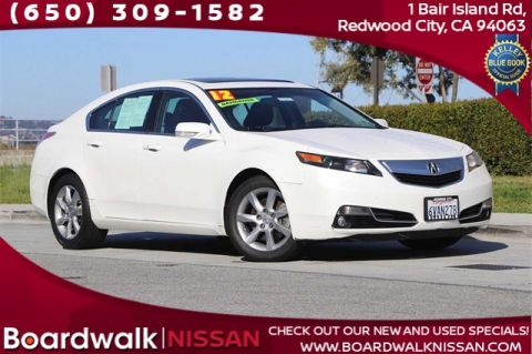 Pre-Owned 2012 Acura TL 3.5 With Navigation