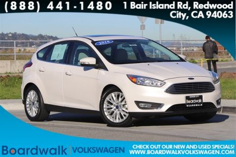 Pre-Owned 2018 Ford Focus Titanium FWD 4D Hatchback