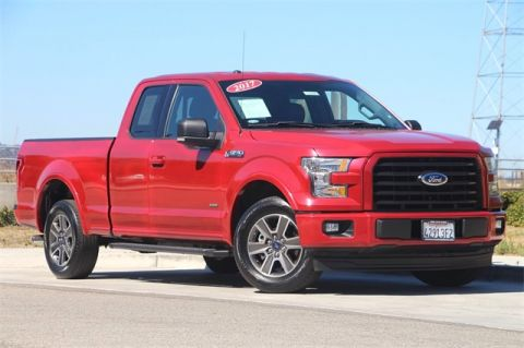Pre-Owned 2017 Ford F-150 XLT RWD Super Cab