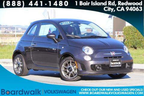 Pre-Owned 2018 FIAT 500 Pop FWD 2D Hatchback