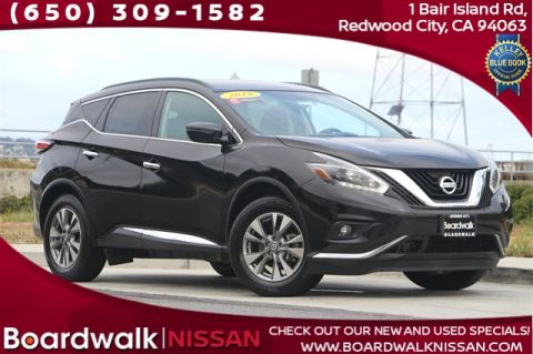 Certified Pre-Owned 2018 Nissan Murano SV With Navigation & AWD