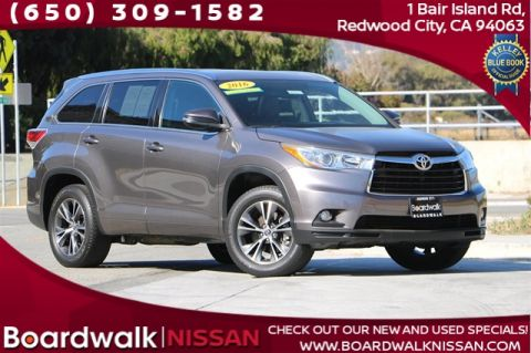 Pre-Owned 2016 Toyota Highlander XLE V6 With Navigation