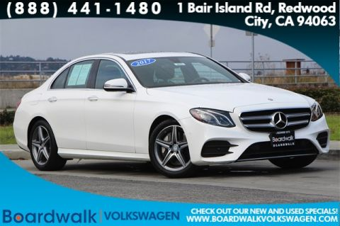 Pre-Owned 2017 Mercedes-Benz E-Class E 300 With Navigation