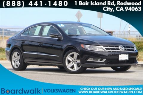 Certified Pre-Owned 2016 Volkswagen CC 2.0T Sport With Navigation