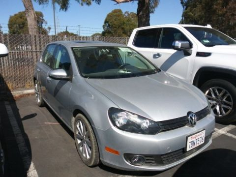 Pre-Owned 2013 Volkswagen Golf TDI FWD 4D Hatchback